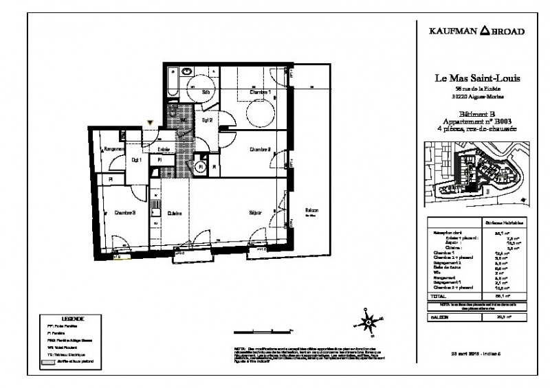 Vente appartement Aigues mortes 305000€ - Photo 3