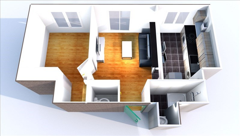 Location appartement Marly le roi 863€ CC - Photo 2