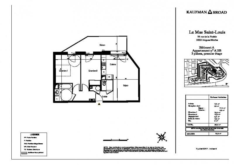 Vente appartement Aigues mortes 236000€ - Photo 3