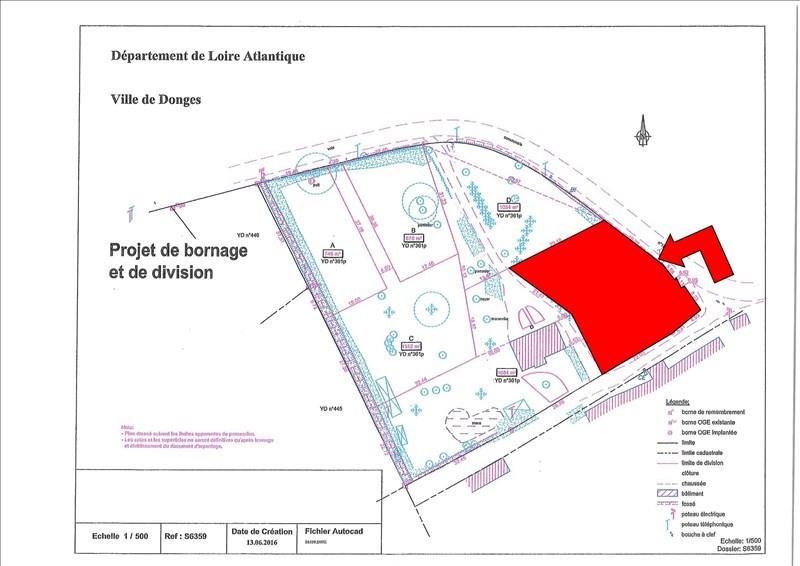 Vente terrain Donges 39000€ - Photo 2