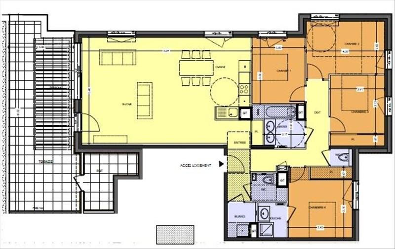 Deluxe sale apartment Aix les bains 660000€ - Picture 2