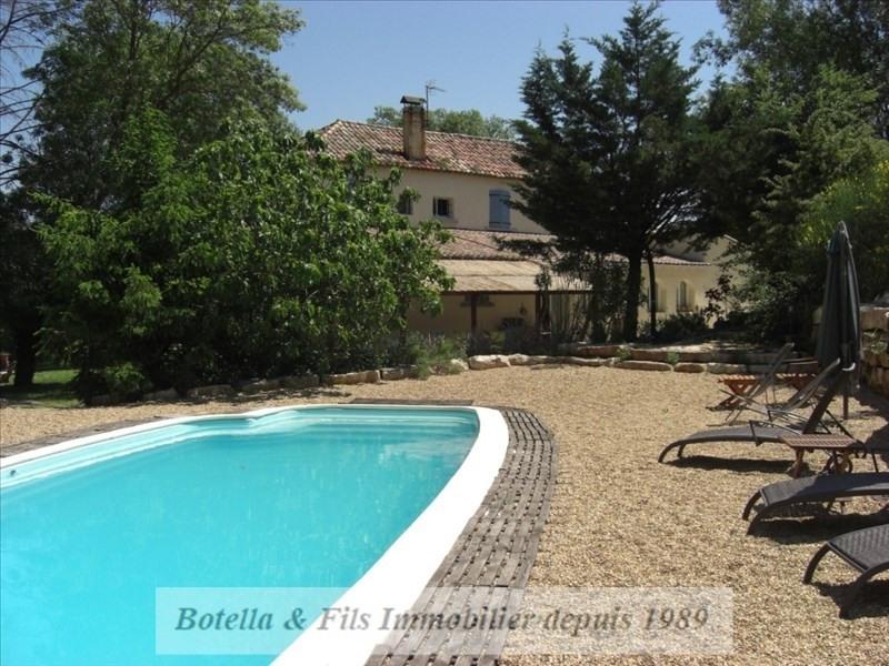 Vente de prestige maison / villa Barjac 526000€ - Photo 2