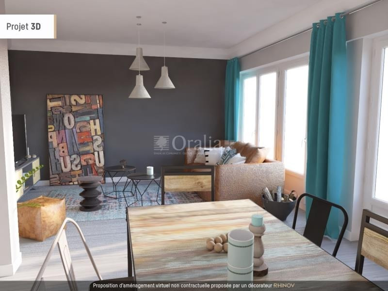 Vente appartement Echirolles 139 000€ - Photo 1