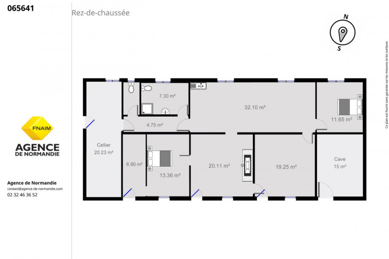 Sale house / villa Bernay 65000€ - Picture 7