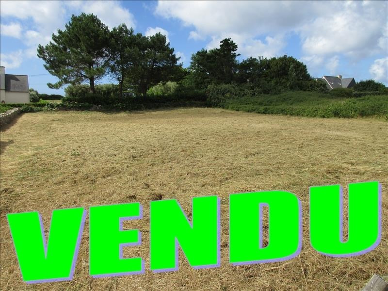 Vente terrain Plouhinec 47 936€ - Photo 1