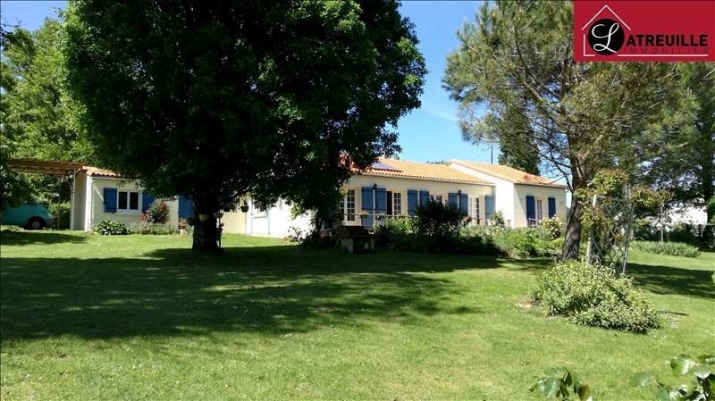 Vente maison / villa Gemozac 215250€ - Photo 1
