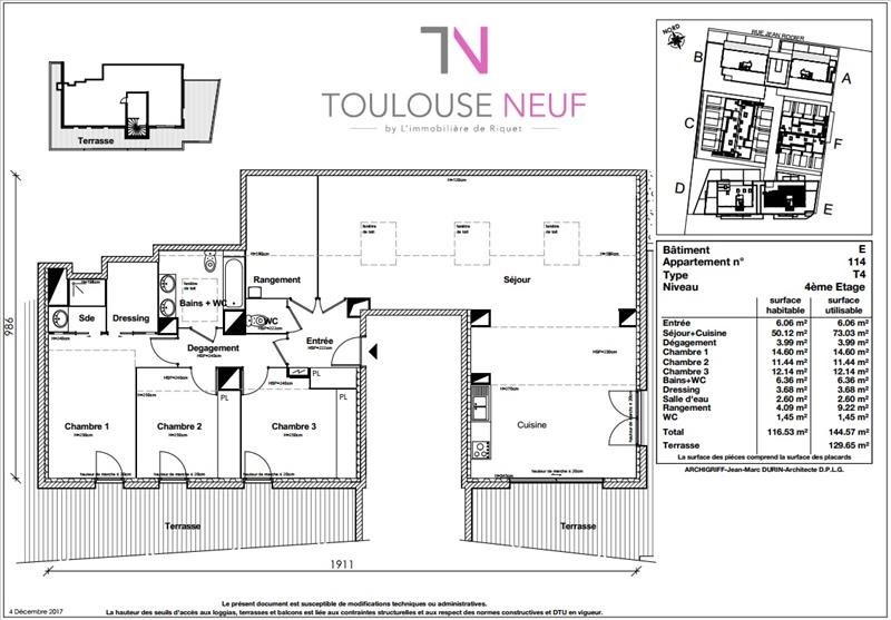Vente appartement Toulouse 409900€ - Photo 8