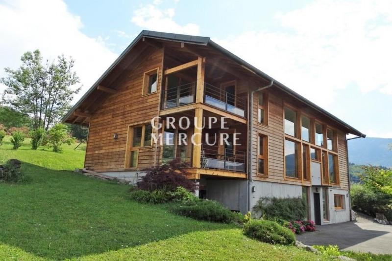 Maison ossature bois de 250 m² à Saint jorioz avec vue sur l