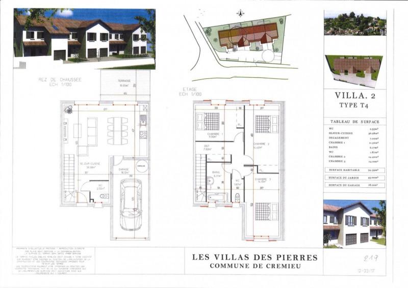 Vente maison / villa Crémieu 219000€ - Photo 2