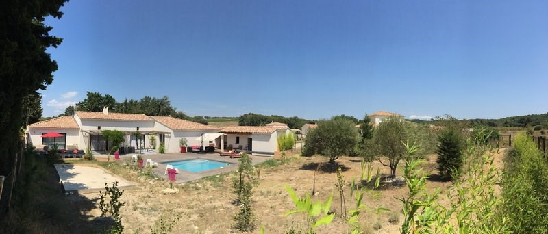 Vente maison / villa Uchaux 525000€ - Photo 2