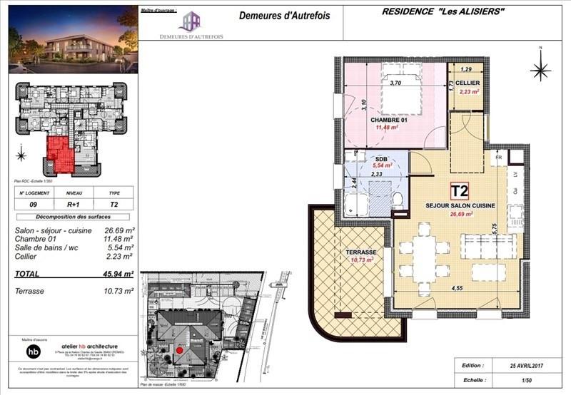 Vente appartement Ruy 169480€ - Photo 3