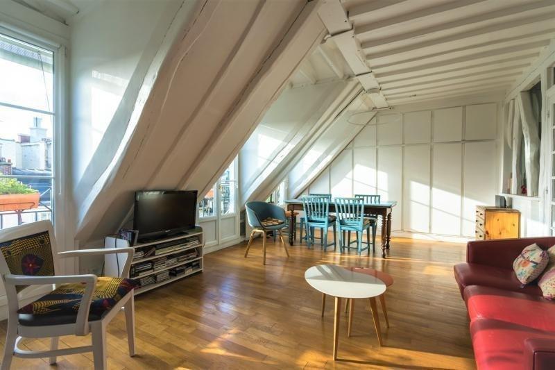 Deluxe sale apartment Paris 4ème 1160000€ - Picture 1