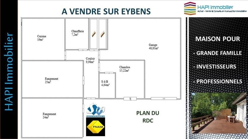 Verkoop  huis Eybens 549000€ - Foto 1