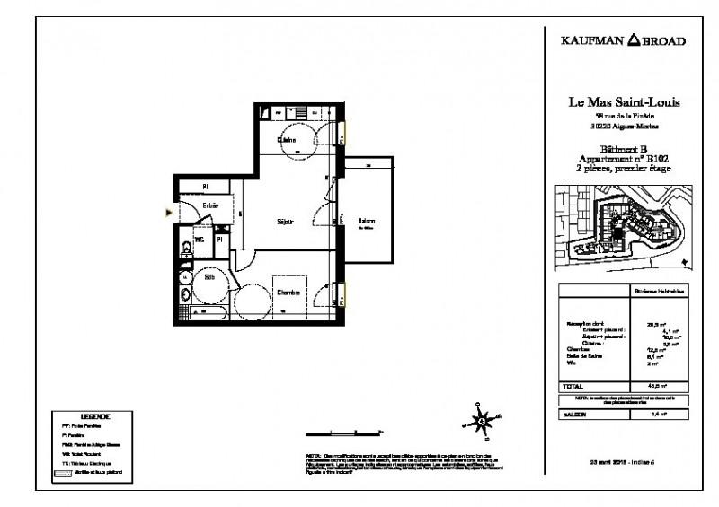 Vente appartement Aigues mortes 178000€ - Photo 3