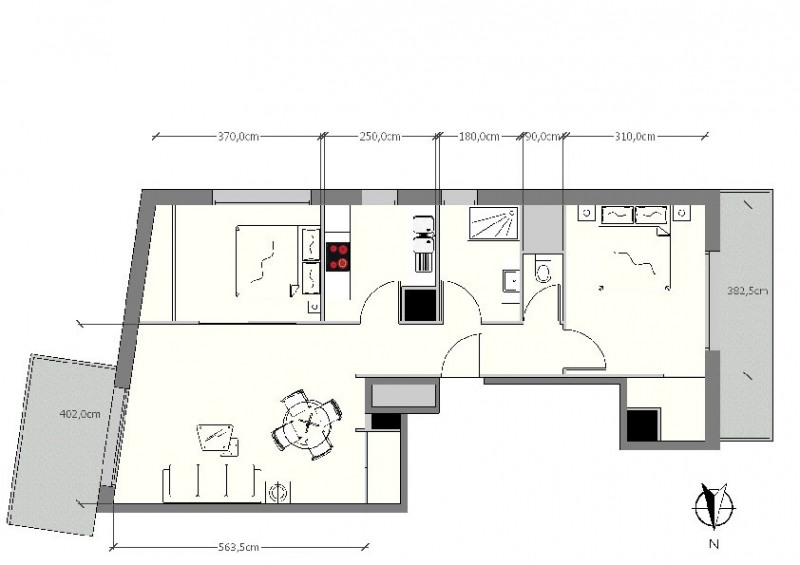 Sale apartment Nice 548000€ - Picture 8