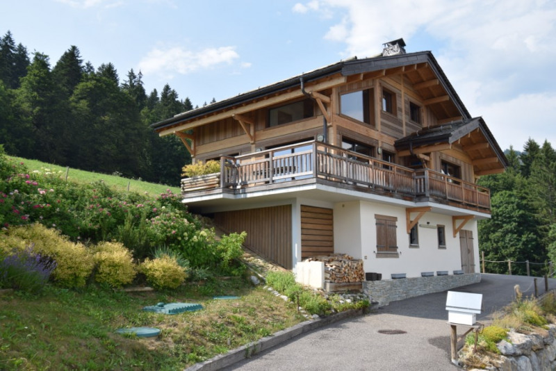 Vente de prestige maison / villa Grand bornand 980 000€ - Photo 2