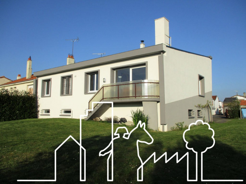 Maison centre bourg + terrain constructible
