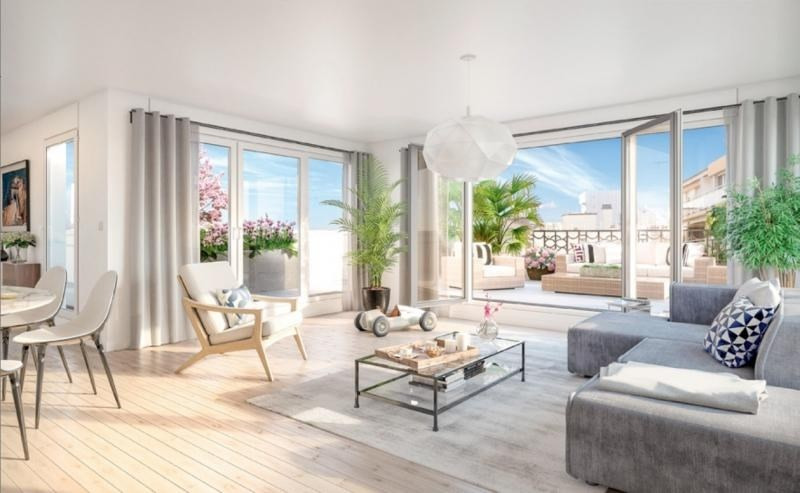 Venta  apartamento Levallois perret 976000€ - Fotografía 5