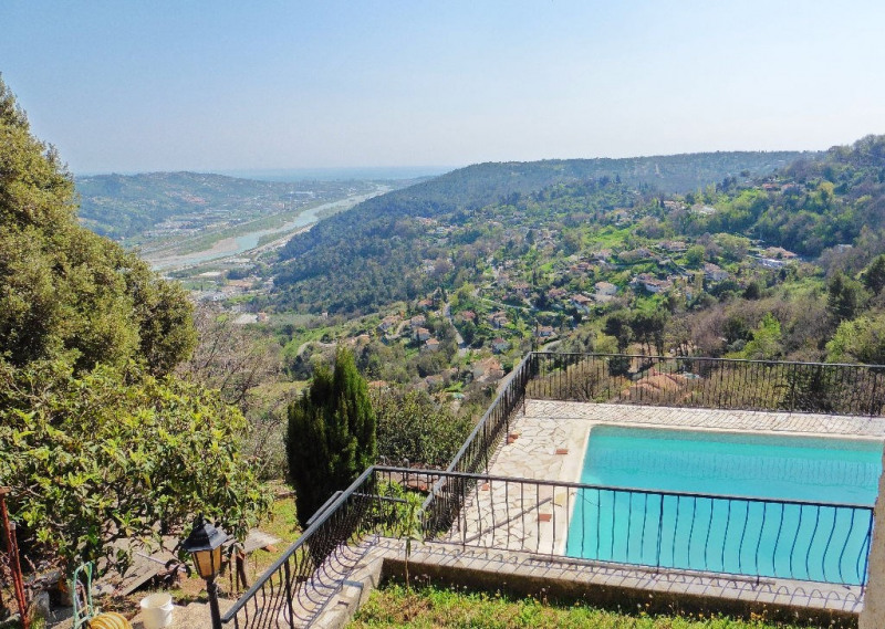 Vente de prestige maison / villa Gattieres 629000€ - Photo 1