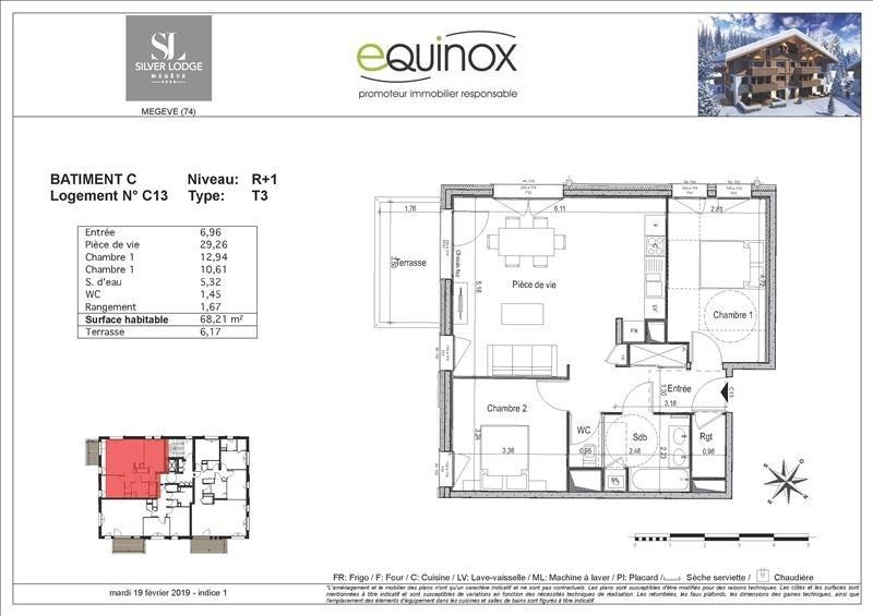 Vente appartement Megeve 500000€ - Photo 3