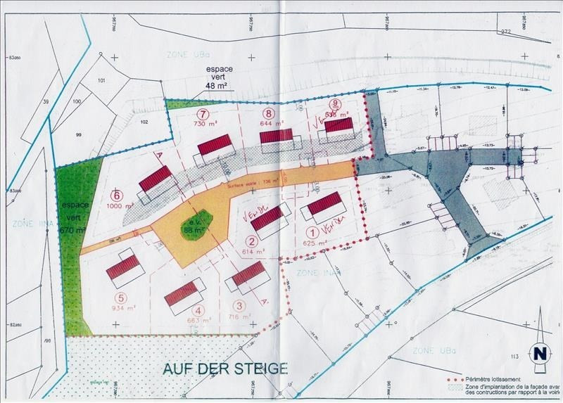 Vendita terreno Ville 106362€ - Fotografia 3