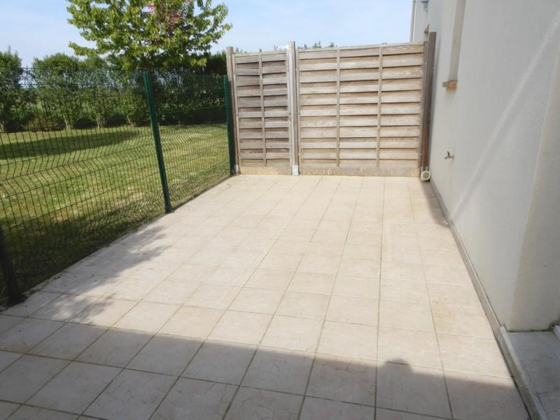 Studio loué en rez-de-jardin avec terrasse privative