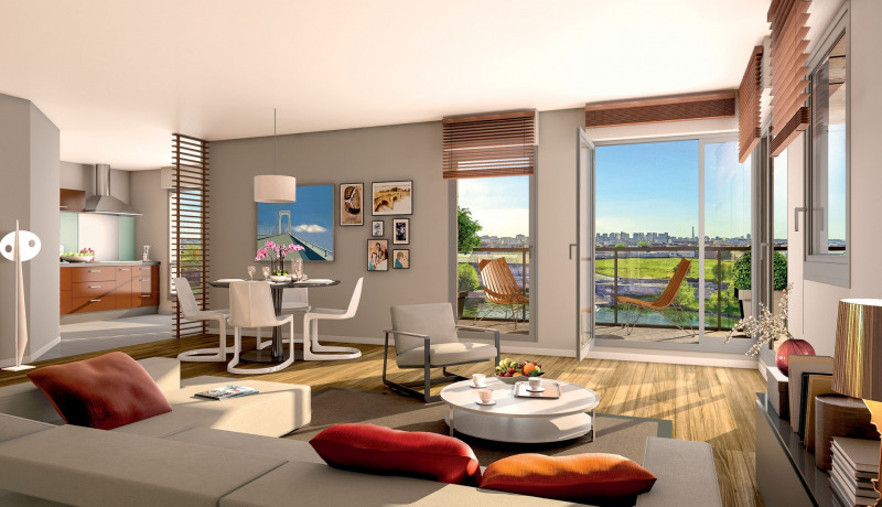 Sale apartment Alfortville 345500€ - Picture 1