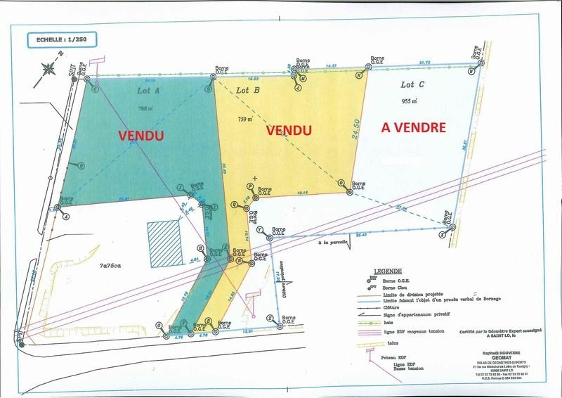 Vente terrain Hebecrevon 25 500€ - Photo 1
