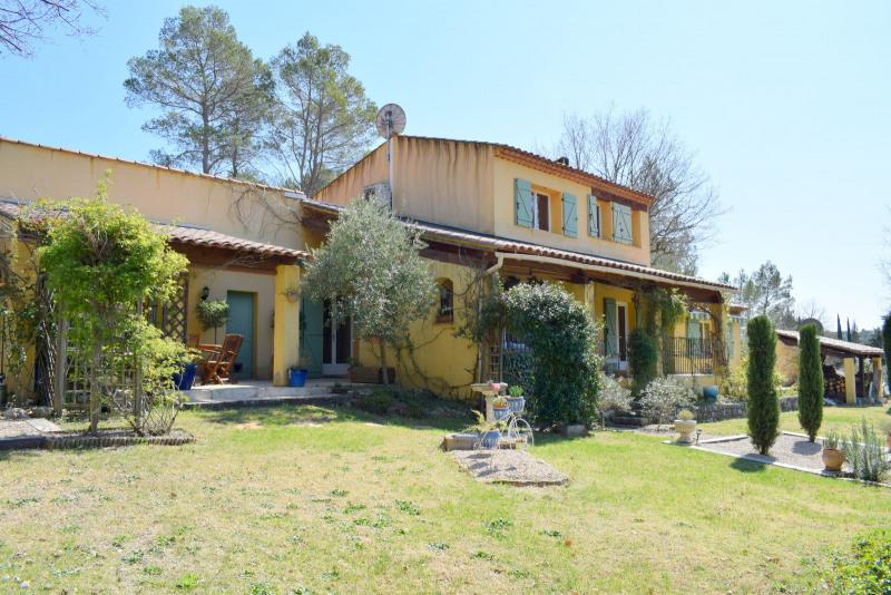 Deluxe sale house / villa Fayence 560000€ - Picture 1