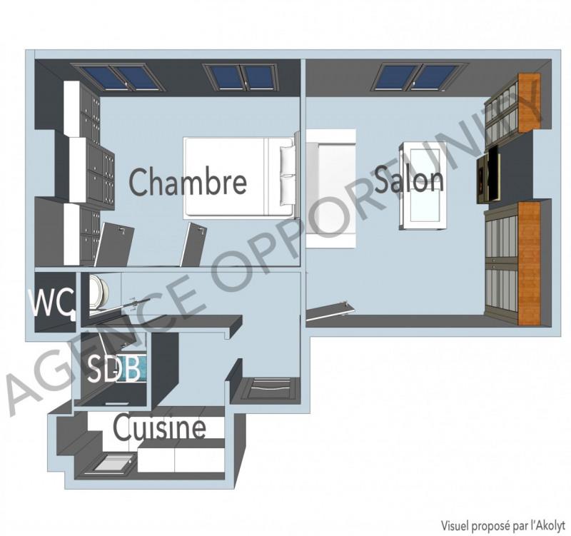 Produit d'investissement appartement Paris 11ème 395000€ - Photo 2