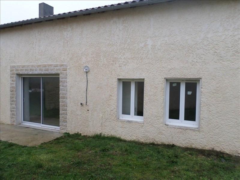 Vente maison / villa Lussac les chateaux 86000€ - Photo 1