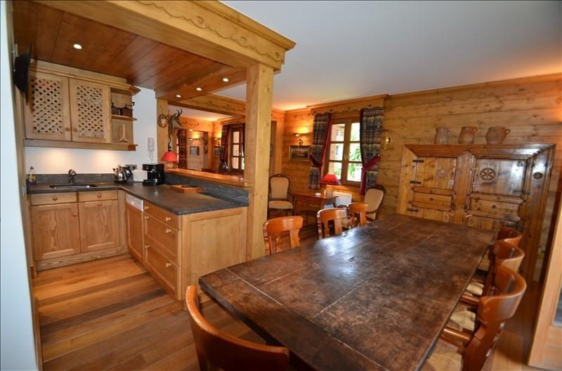 Vente de prestige appartement Megeve 1260000€ - Photo 3