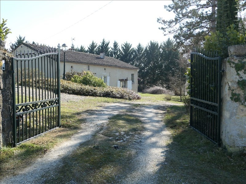 Sale house / villa Roquepine 291500€ - Picture 1