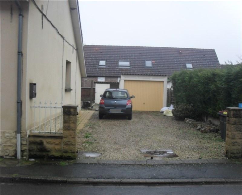 Sale house / villa Courcelles les lens 110000€ - Picture 2