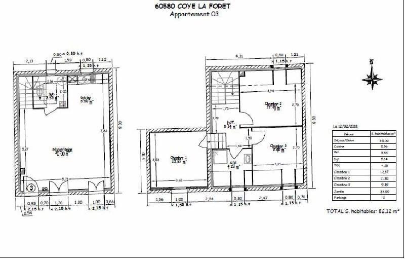 Vente maison / villa Coye la foret 300000€ - Photo 5
