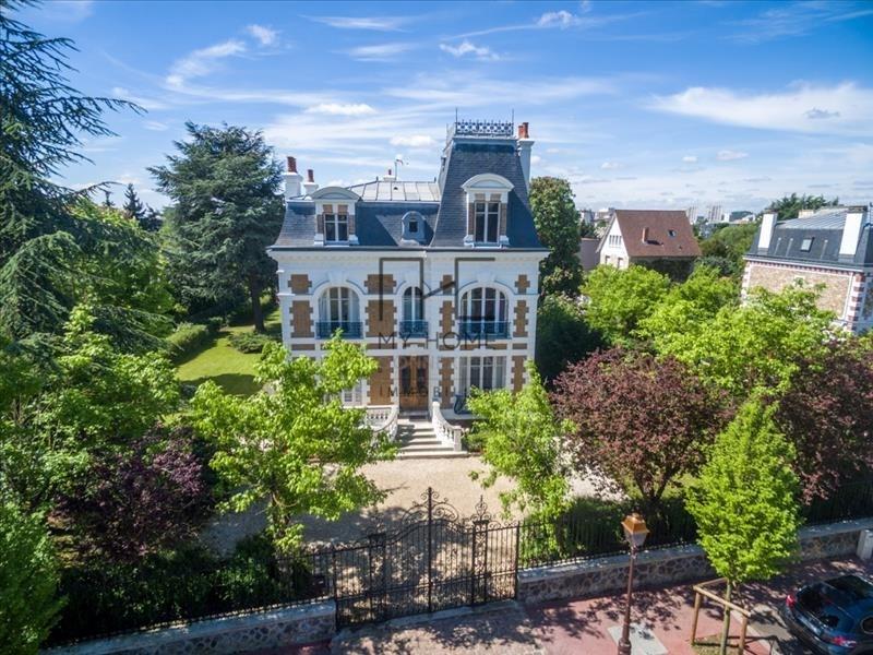 Venta de prestigio  casa Enghien les bains 1842000€ - Fotografía 1