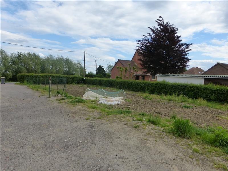 Vente terrain Calonne sur la lys 44000€ - Photo 1