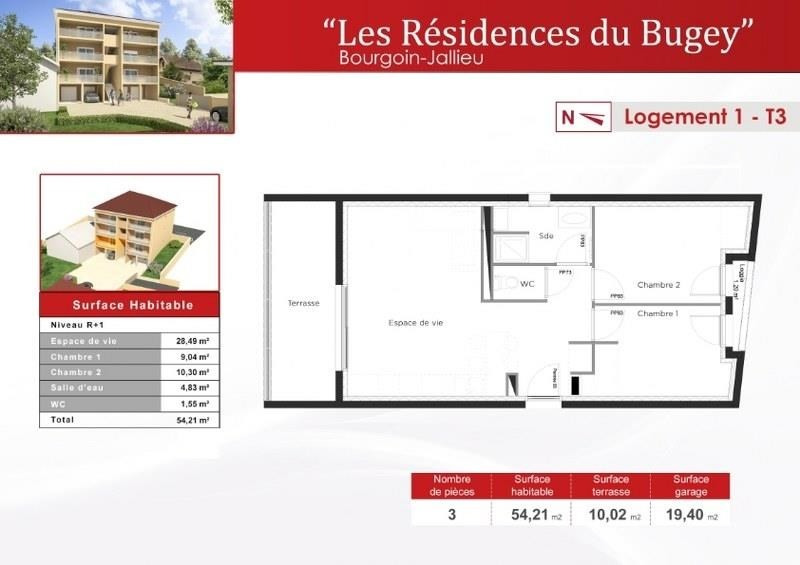 Sale apartment Bourgoin jallieu 177 630€ - Picture 3