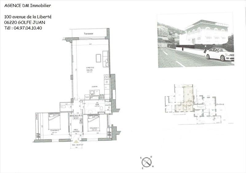 Vendita appartamento Nice 379000€ - Fotografia 2