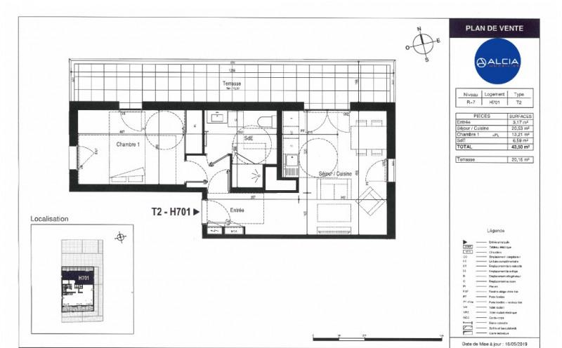 Sale apartment Bordeaux 209000€ - Picture 2