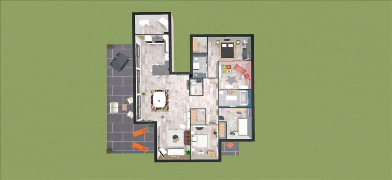 Vente de prestige appartement Montelier 495000€ - Photo 2