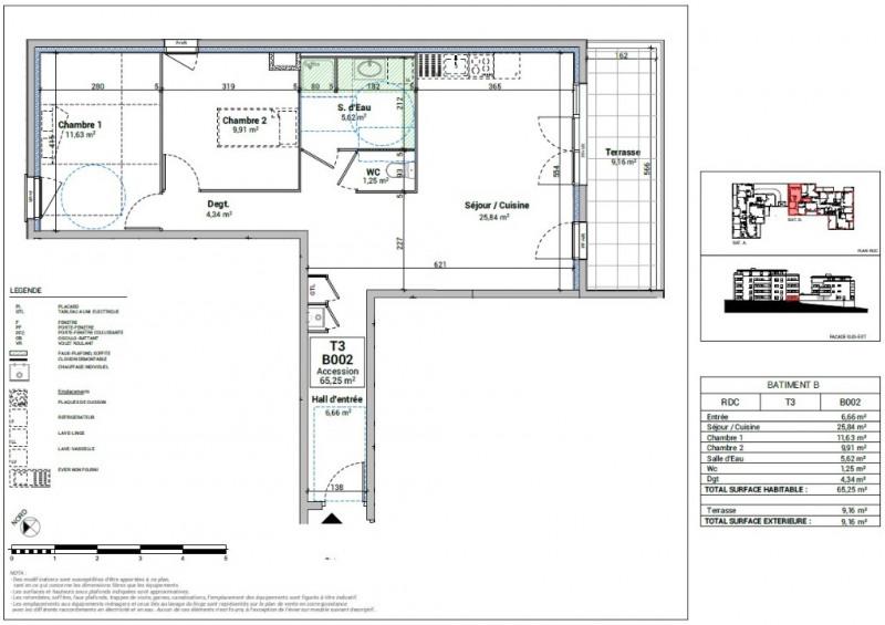 Sale apartment Bourgoin jallieu 182000€ - Picture 3