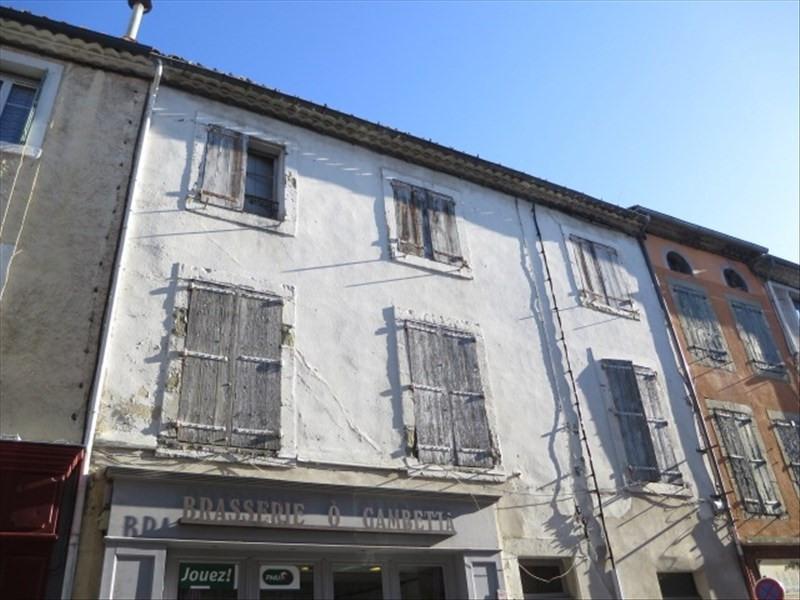 Vente immeuble Carcassonne 55000€ - Photo 1