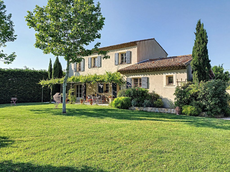 Deluxe sale house / villa Rochefort du gard 625000€ - Picture 1
