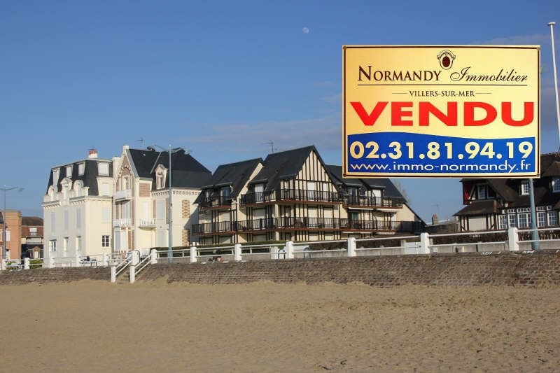Vente appartement Villers sur mer 175000€ - Photo 1