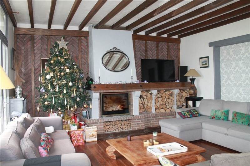 Vente maison / villa Oisy le verger 370000€ - Photo 2