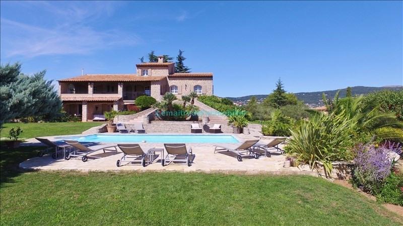 Vente de prestige maison / villa Peymeinade 1490000€ - Photo 1