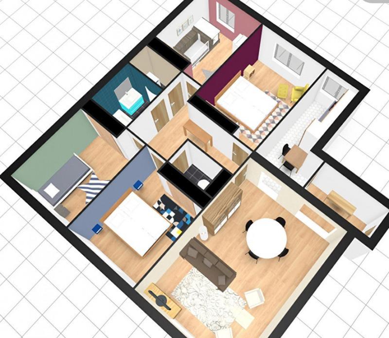 Vente appartement Paris 15ème 960000€ - Photo 3