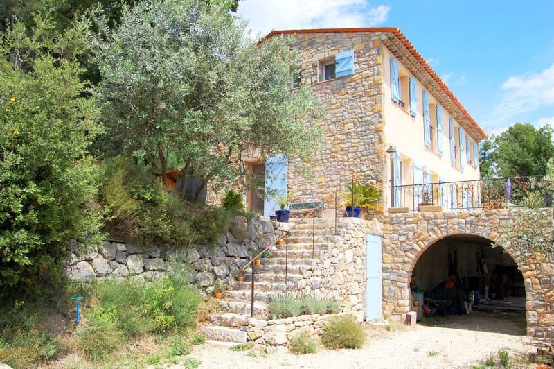 Revenda residencial de prestígio casa Seillans 495000€ - Fotografia 5
