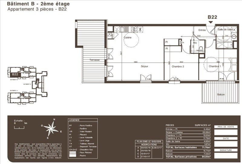 Vente appartement Colomiers 299000€ - Photo 5